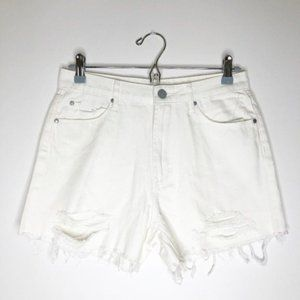 ARTICLES OF SOCIETY Ripped High Rise Shorts